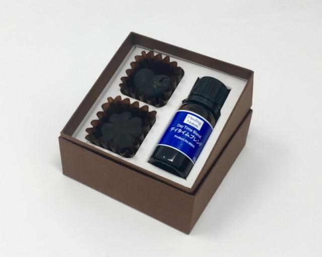 精油付き炭のチョコラ【昼用】