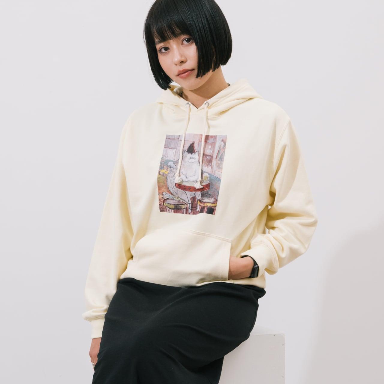 黒山 KATHY LAM パーカー ゴッホ【Creator's Project002】