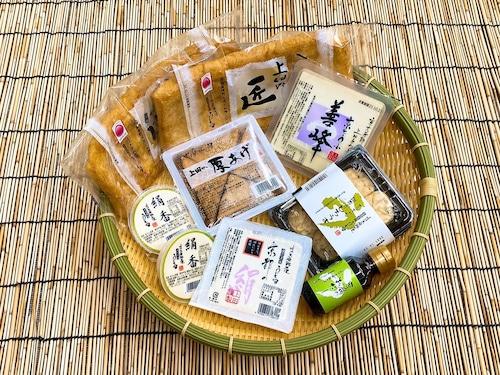京都の冬~豆腐と揚げの炊き合わせセット~