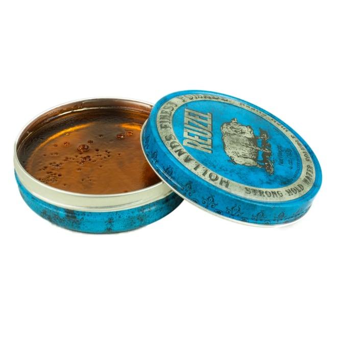 卸売決済用 Reuzel(ルーゾー)  ブルーポマード 水性ストロングホールド 青缶 113g