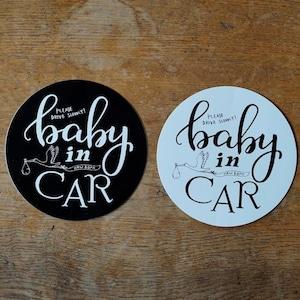 BABY in CAR サイン /ステッカー