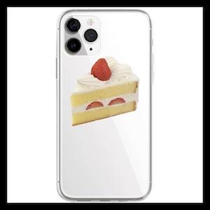 【お取り寄せ】ショートケーキ iPhoneケース