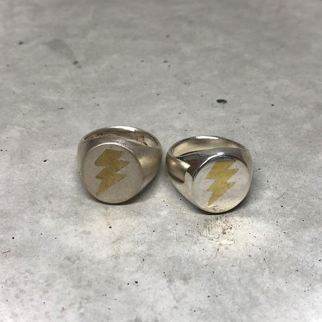 【MR-3SV】Inlaid Lightning ring