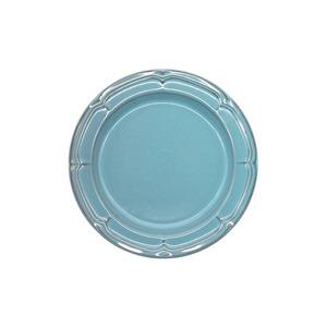 Koyo ラフィネ リムプレート 皿 約17.5cm アンティークブルー 15987107