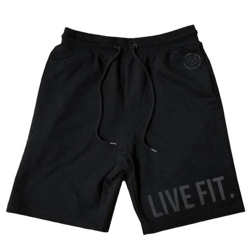 LIVE FIT Athletic Shorts - Black