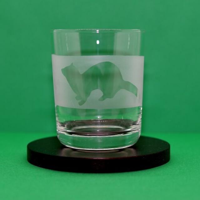 グラス(4) フェレット抜きシルエット (150ml)