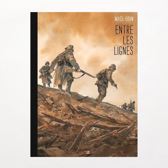 アートブック「Entre les lignes」バンドデシネ作家Maël(マエル)
