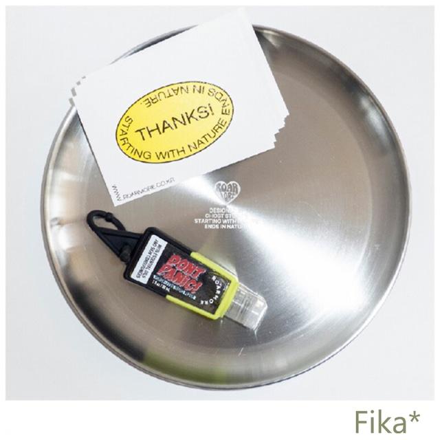 韓国雑貨★ROARMORE★キュートなステンレス トレイ 皿 21cm