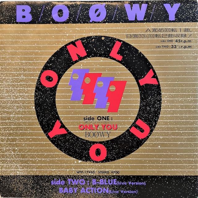 [中古7inch]  Boøwy – Onlu You