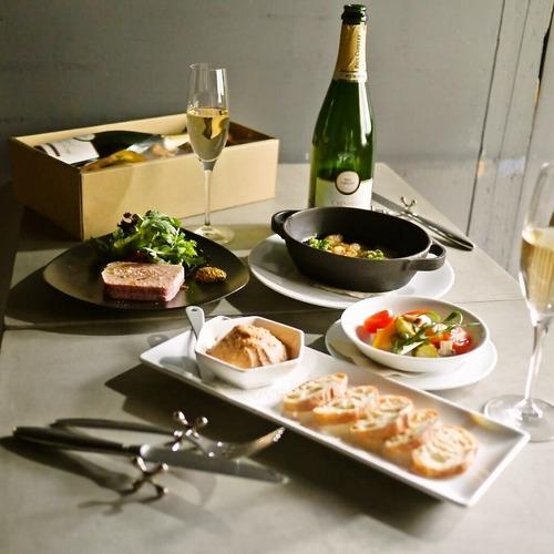 【送料無料】シャンパンと鴨を楽しむセットBOX(フレンチ惣菜 テリーヌ ワイン)【冷蔵便】の商品画像9