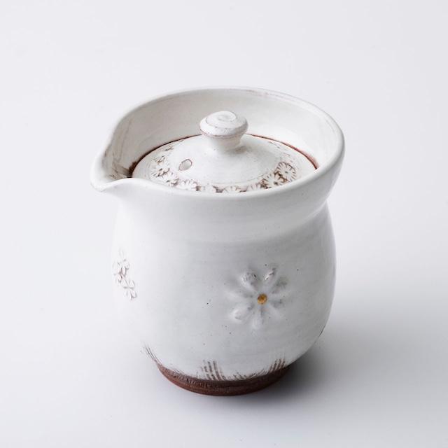 """京焼宝瓶「花三島」  Kyo-ware small teapot""""HANA MISHIMA"""""""
