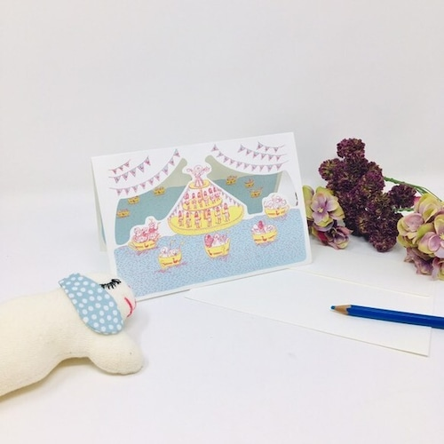 【3枚セット】女王のティーパーティーBlank Card <シアターグリーティングカード>