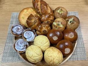 ★有機カムート100%使用 7種 おまかせパン