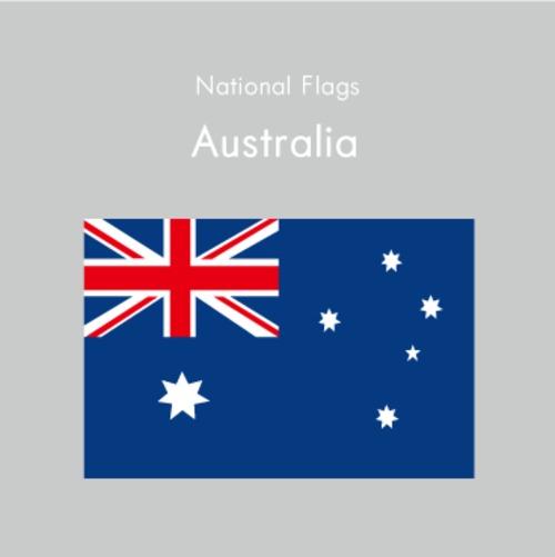 国旗ステッカー オーストラリア