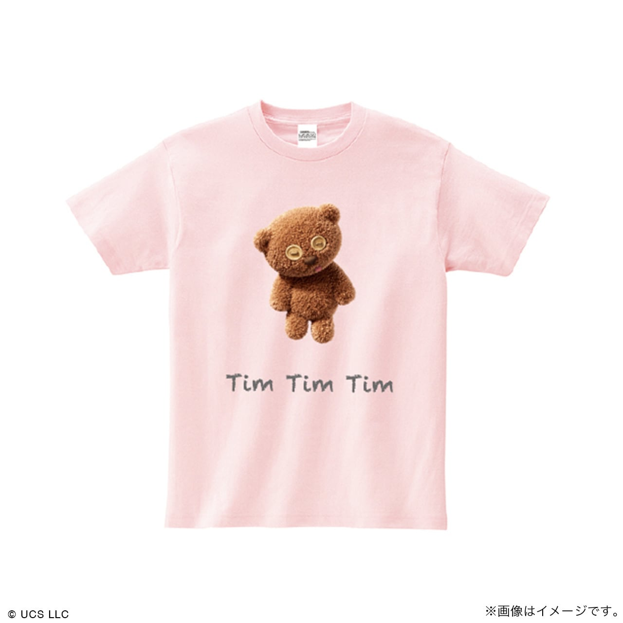 キッズTシャツ/ミニオン(Tim ピンク)【MINIONS POP UP STORE 限定】