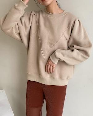 v design wool lining sweat