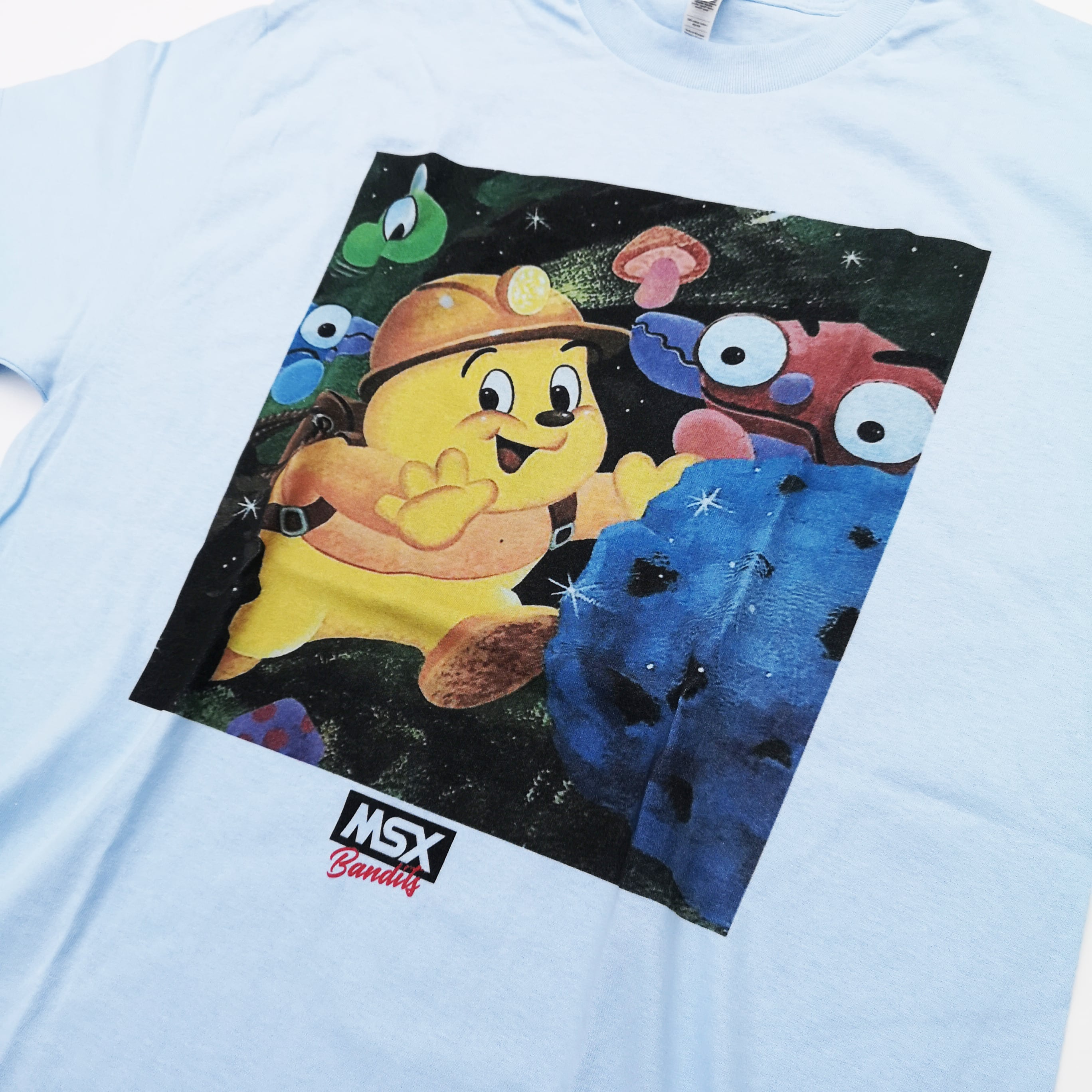 """MSX BANDITS The Art of Graphic """"FLAP"""" TEE"""