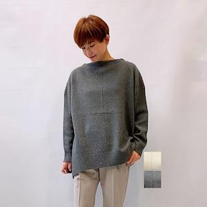 marmors(マルモア) YAK ボートネックプルオーバー 2021秋冬新作 [送料無料]