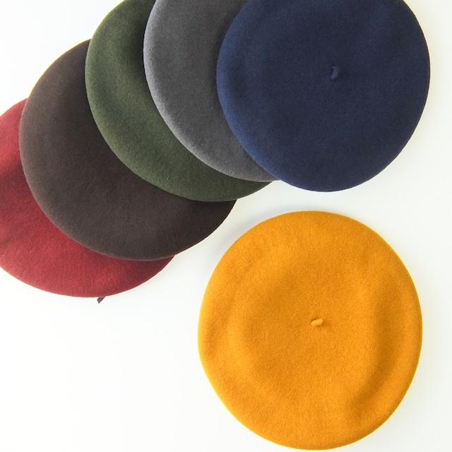 Manufacture De Berets - ウールバスクベレー帽 - 全6色