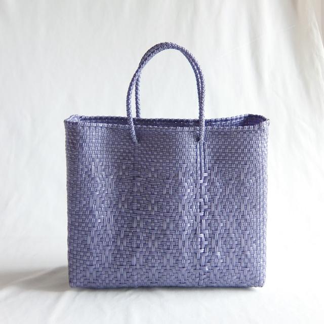 Letra - メルカドバッグ ROMBO - Metallic Purple - サイズXS