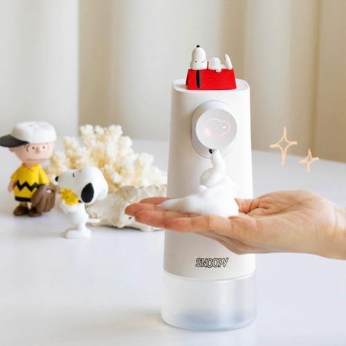 【韓国限定】peanuts snoopy auto hand soap dispenser 2types / スヌーピー オート ハンドソープ ディスペンサー 自動 雑貨