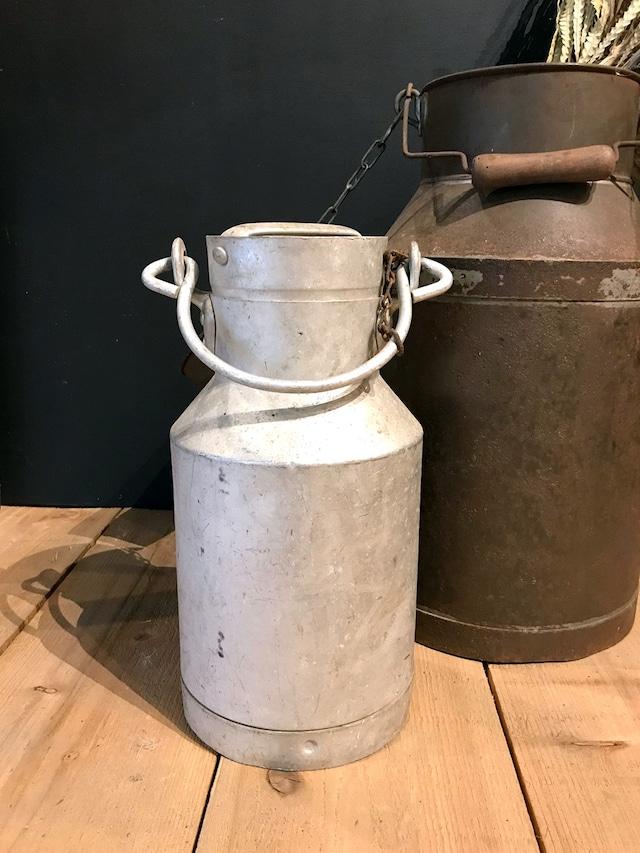 アルミのミルク缶 ミニサイズ