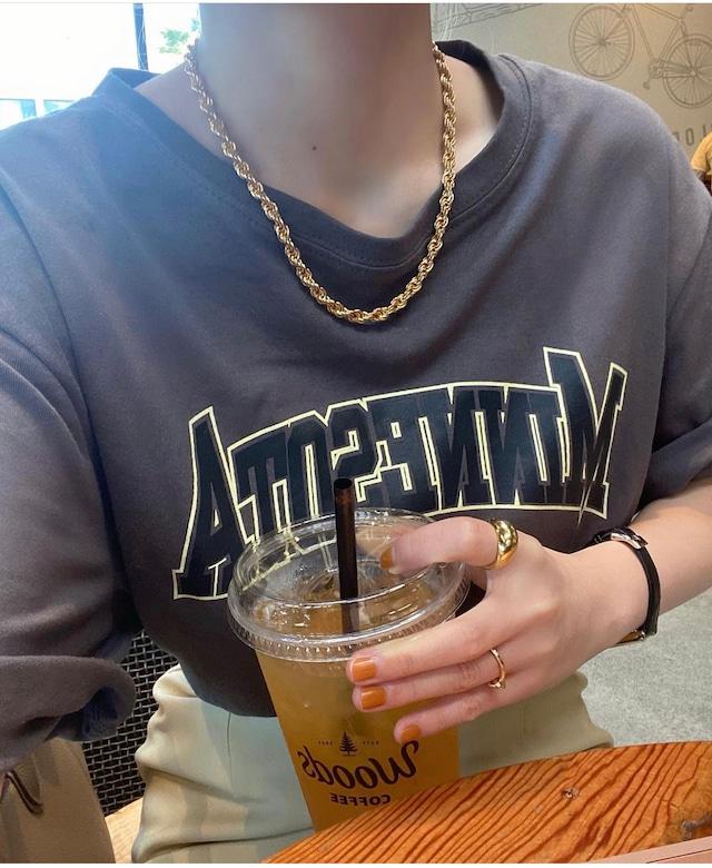 DAYNYC twist accent necklace