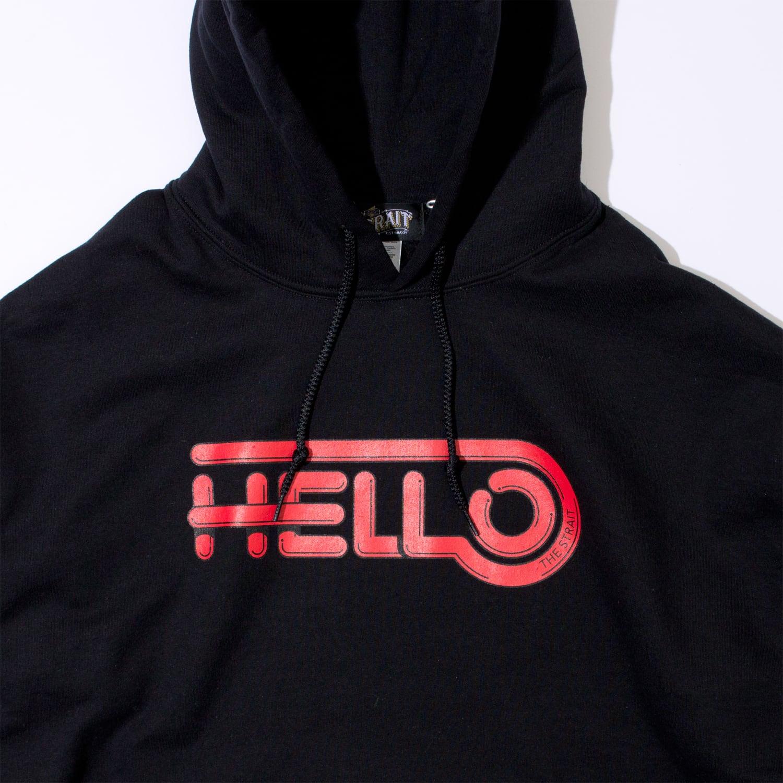 HELLO HOODIE #BLACK