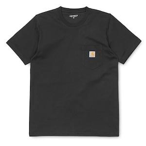 Carhartt (カーハート)S/S POCKET T-SHIRT  BLACK