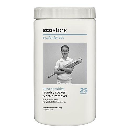 【ecostore】ソーク&ウォッシュパウダー <無香料> 1kg