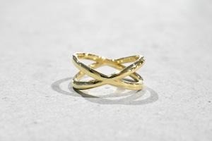 Crossing Ring / K18 YG