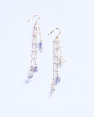 Fira / Pearl w blue purple Coral