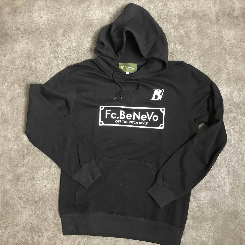 BV×Fc.BeNeVo STANDARD LOGO PULLOVER (BLACK)
