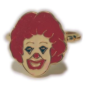 マクドナルド ロナルドの指輪