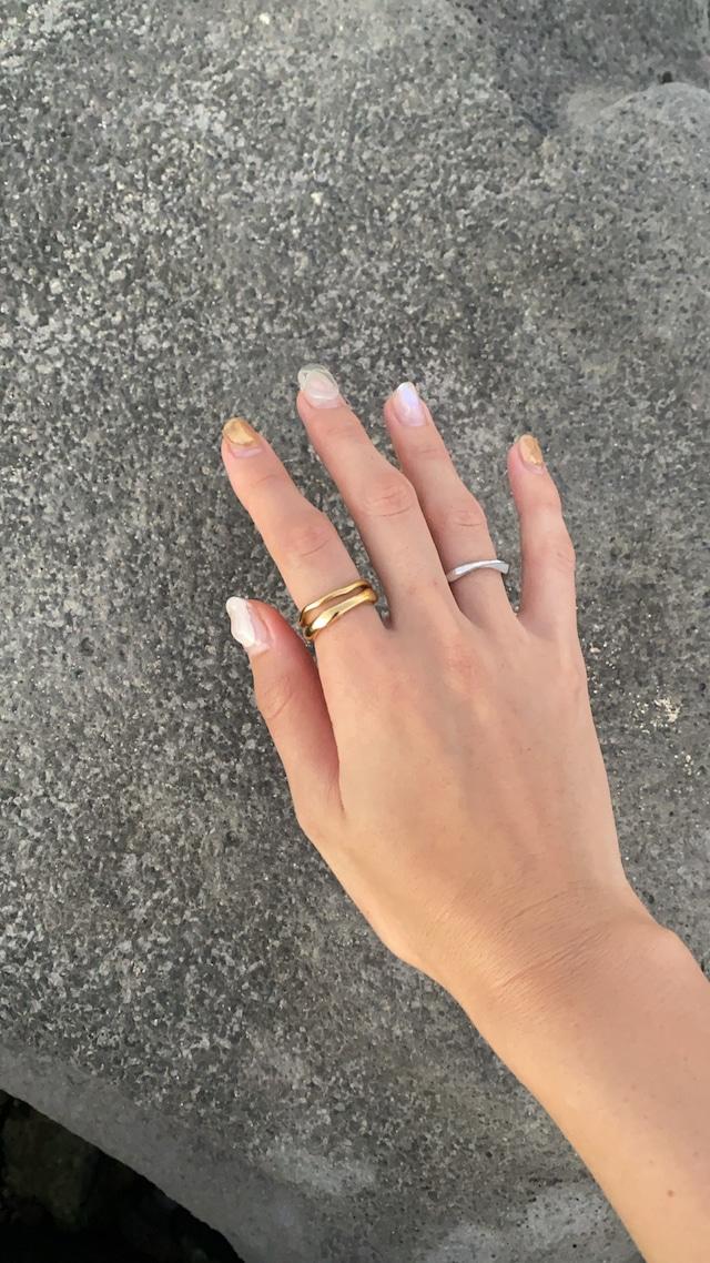 waviness thin ring