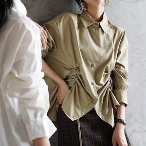 2色/ダブルドロストシャツ ・3108
