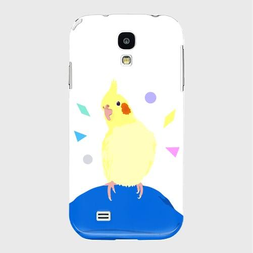 Galaxy S4 ことりちゃん オカメインコ ケース