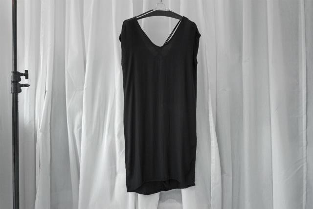 thom krom / BLACK DRESS / BLK