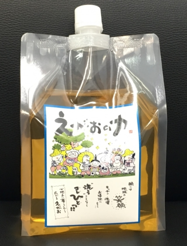 コピー:えがおの力【1000ml】/大人気の強力天然洗剤!