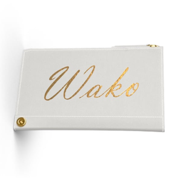 Custom Name Mini Wallet  Premium Smooth Leather (Limited/数量限定10月分)