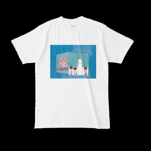 【税込・送料無料】世川ちひろデザインTシャツ「プリ機」