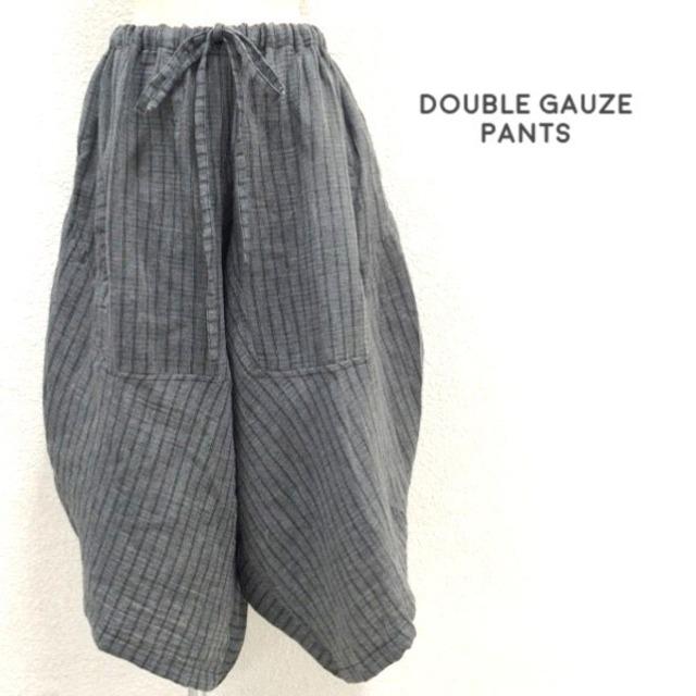 袴風パンツ グレー