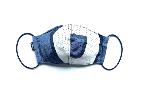 【夏用デザイナーズマスク 吸水速乾COOLMAX使用 日本製】SPORTS MIX MASK CTMR 0818111