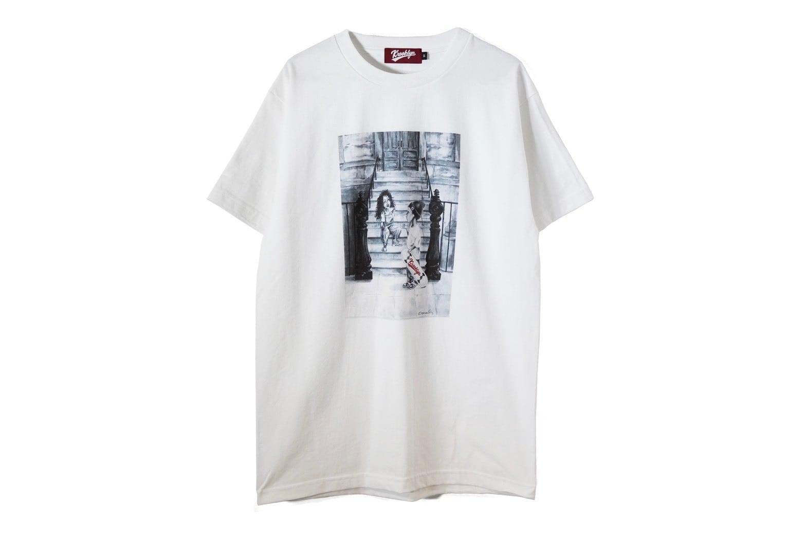 K'rooklyn × Denali  T-Shirts - White