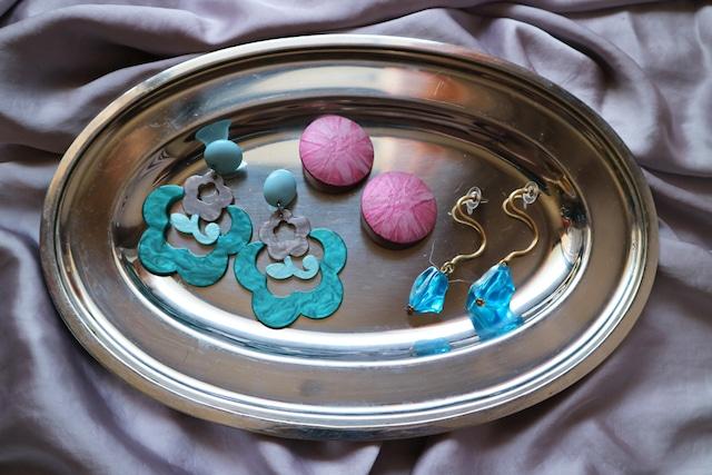 Juicy pierce & earring