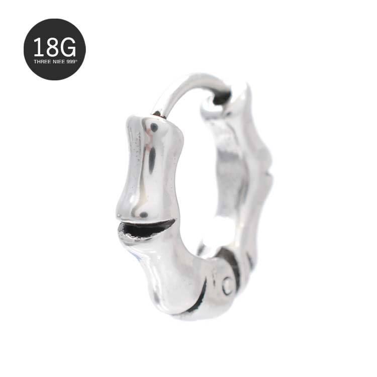 Pierce 18G ボディピアス フープピアス フープ 軟骨ピアス 片耳ピアス SPU056