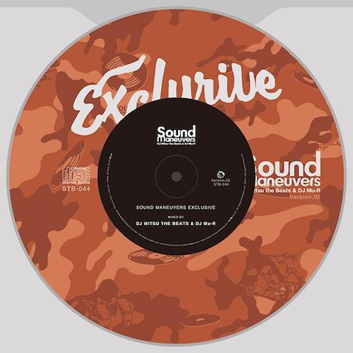 【CD】Sound Maneuvers(DJ Mitsu the Beats & DJ Mu-R)- EXCLUSIVE ver. 5