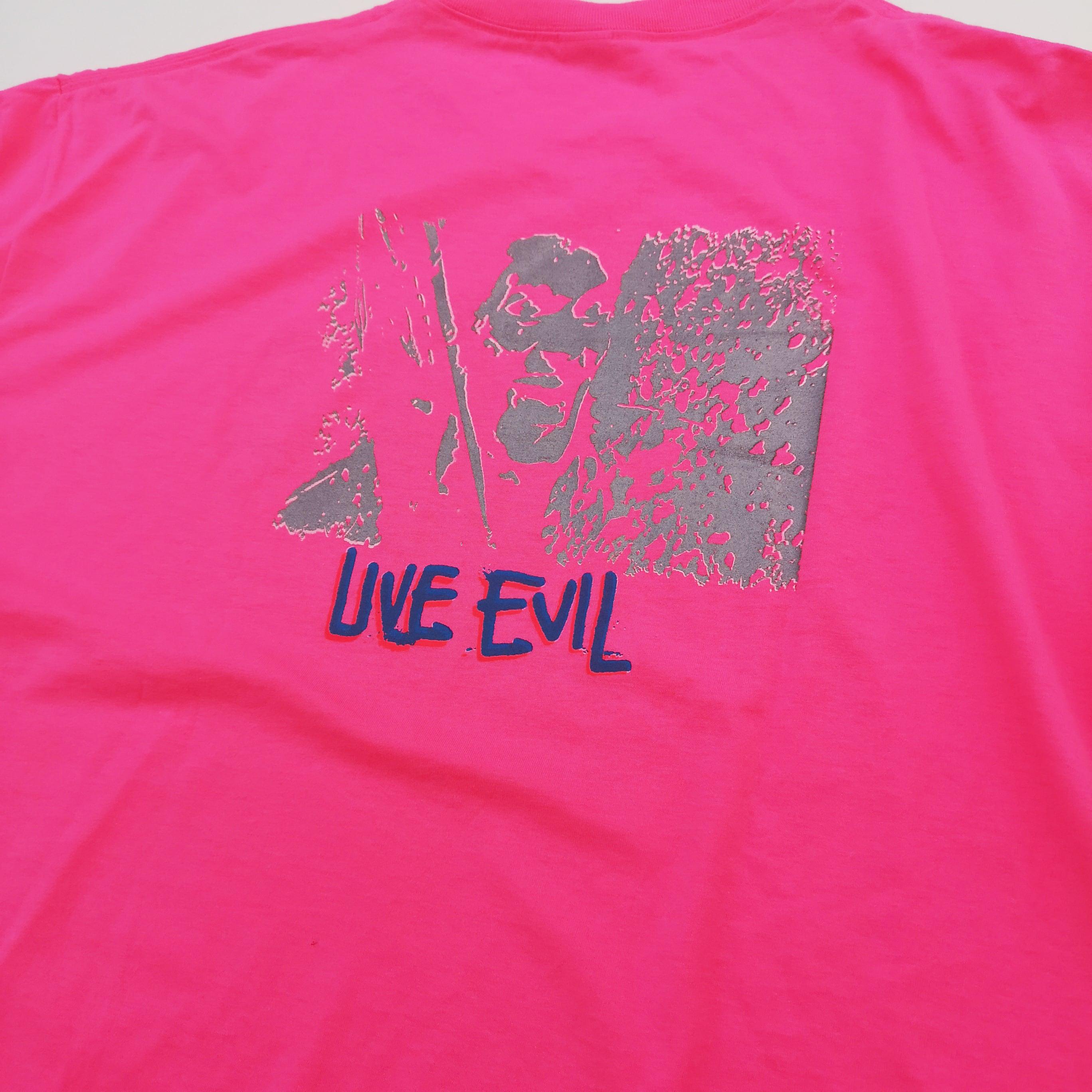 "FAT PIGEON RECORDS ""Soul Sacrifice"" LONG TEE Neon Pink XL"