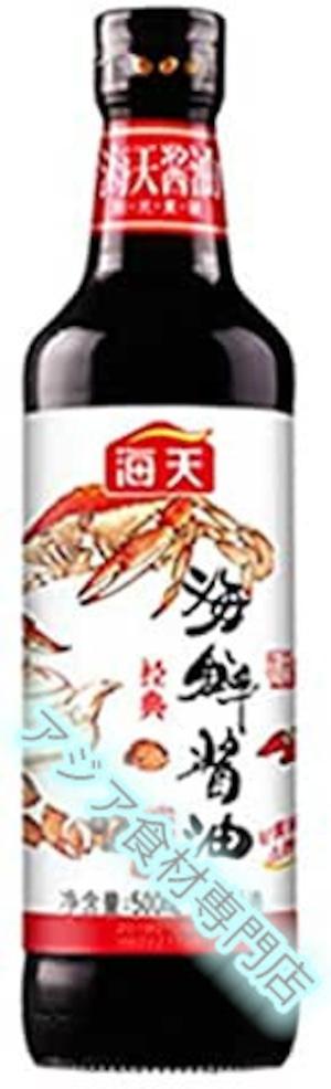 【常温便】海天海鲜酱油500ml(海天 海鮮醤油500ml)