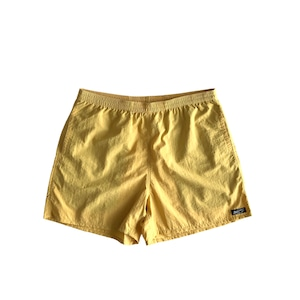 Mountain / active nyron shorts / アクティブ ナイロン ショーツ  / yellow mastard